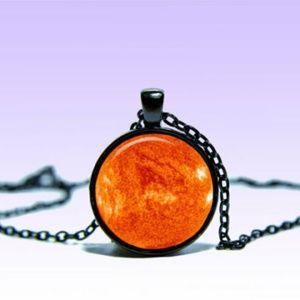 ~ Mystic Sun Star Pendant Necklace ~